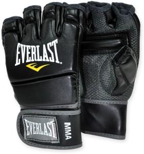 Everlast MMA Kickboxing Gym & Fitness Gloves (L, Black)