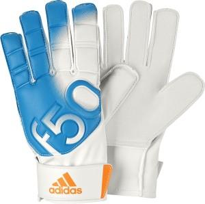 Adidas F50 Training Goalkeeping Gloves (Size-4, Blue, White)