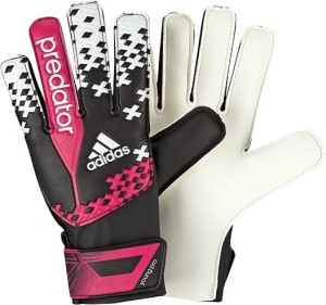 Adidas Pred Young Pro Goalkeeping Gloves (Size-6, Orange, Blue)