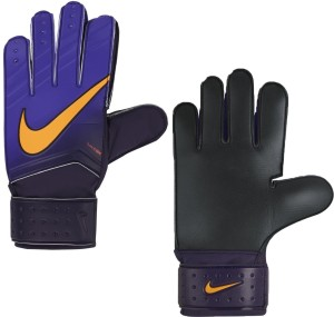 Nike G K MATCH JR Goalkeeping Gloves (S, PURPLE/ORANGE)