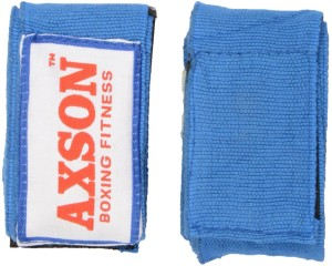 AXSON Fighting Boxing Gloves (Free Size, Blue)