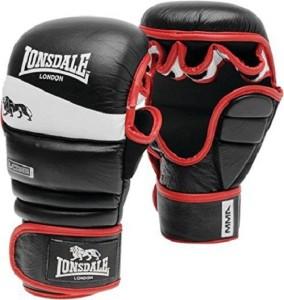 Xpeed MMA Striking Training Martial Art Gloves (L, Black)