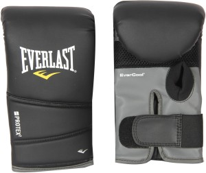 Everlast Protex2 Boxing Gloves (L, Black)