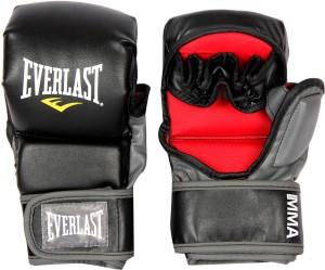 Everlast Striking Boxing Gloves (M, Black)