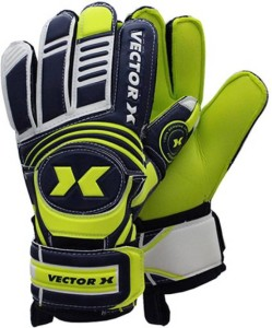 Vector X ADVANCE-YB-9 Football Gloves (XXL, Yellow, Black)
