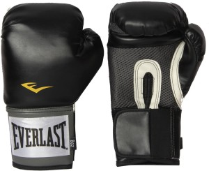 Everlast Pro Style Training Boxing Gloves (S, Black)
