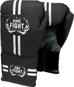 Ring fight Star Boxing Gloves (Boys, Black)