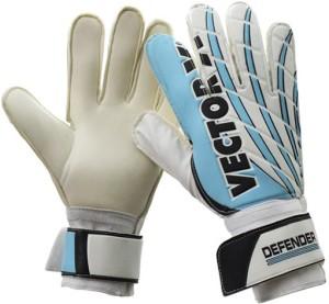 Vector X Defender Goalkeeping Gloves (XXXL, White, Blue)