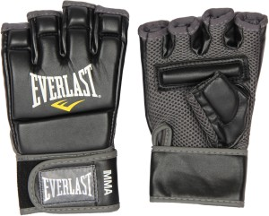 Everlast MMA Kickboxing Boxing Gloves (Black)