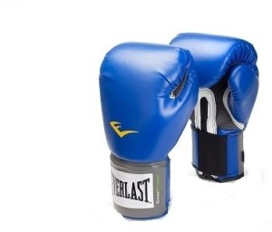 Everlast Pro Style Training Boxing Gloves (XL, Blue)