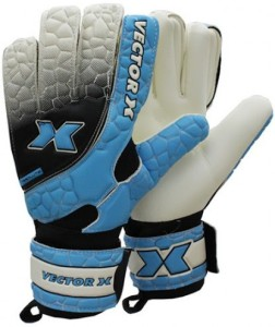 Vector X Absolute Goalkeeping Gloves (Men, Black, Blue, White)