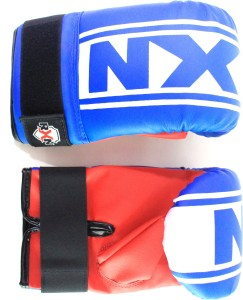 RXN Punching Boxing Gloves (S, Blue, Red)