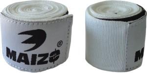 Maizo Stretchable 108 Inches Hand Wraps WHITE Boxing Gloves (M, White)