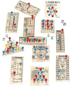 Oriental Trading Company Wooden Peg Game Assortment - Child Party GamesBrown
