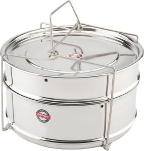 Embassy Cooker Separator Set Suitable For Prestige Outer Lid Cooker Stainless Steel Steamer
