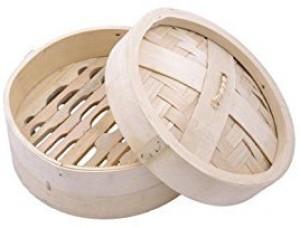 THW Dimsum Basket -Diameter: 22.5 Cm Bamboo Steamer