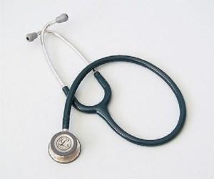 Littmann 3M Classic III™ Stethoscope, Rainbow-Finish 5807  acousticsCaribbean Blue Tube
