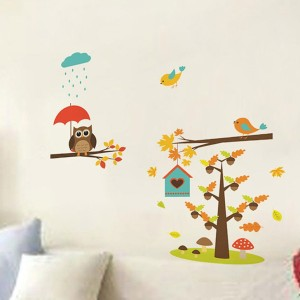9d94a321084 Happy walls Extra Large PVC vinyl Sticker Pack of 1 Best Price in ...