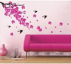 Oren Empower Plum Blossom Home Decor Wall Stickers 60 Cm X Cm 120