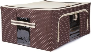 Uberlyfe Foldable Jumbo Saree Cover with Steel Frames 44L