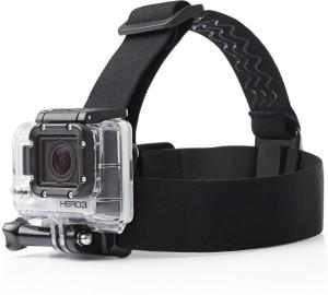 Mobilegear Flexible Head Mount with Adjustable Belt for Yi, SJCAM & GoPro HD Hero Action Cameras Strap