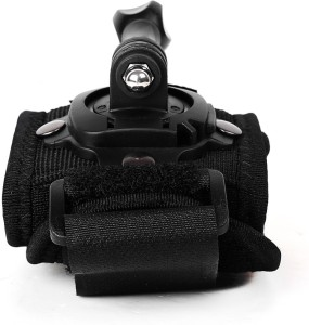 Power Smart 360D Rotation GoPro Glove style Band Mount Wrist For Hero Series Strap