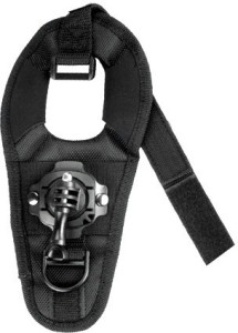 Mobilegear Glove Style Wrist Mount With 360 Degree Rotation & Screw for Yi, SJCAM & GoPro HD Hero Action Cameras Strap