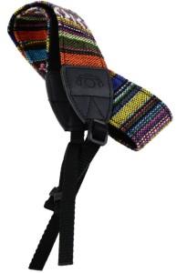 Saihan Woven Colourful Cotton StrapBelt for DSLR /SLR Cameras Strap