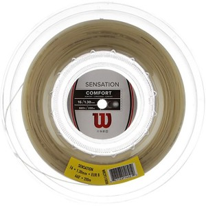 Wilson Sensation 16 Tennis String - 200 m
