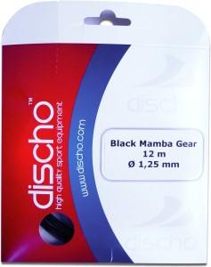 Discho Black Mamba Gear 1.25mm - Single Set 1.25mm Tennis String - 12 m