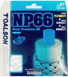 Toalson Nano Premium 66 0.66 mm Badminton String - 10 m