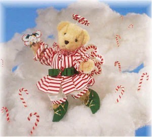 North American Bear Muffy Vanderbear Candy C'Angel Holiday Limited Edition