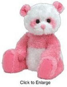 Ty Beanie Ba Dain The Pink Panda Bear
