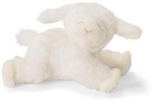 Gund Winky Lamb Baby Rattle Stuffed Animal  - 20 inch