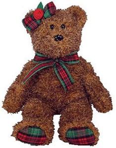 Ty Beanie Ba Happy Holidays The Bear (Hallmark Gold Crown