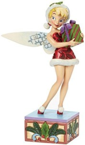 Jim Shore for Enesco Disney Traditions Tinker Bell With Present Figurine75Inch