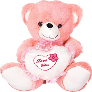 cally soft toy teddy bear with heart says love you gifts for girls