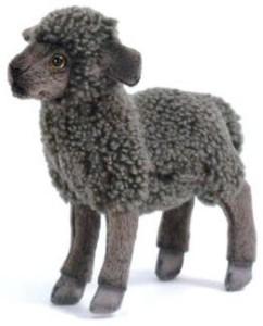 Hansa Black Kid Sheep 12
