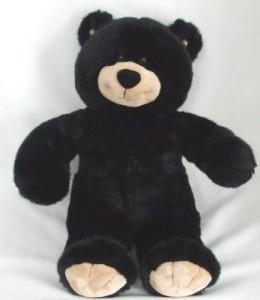 BABW Build A Bear Black Teddy Bear 16