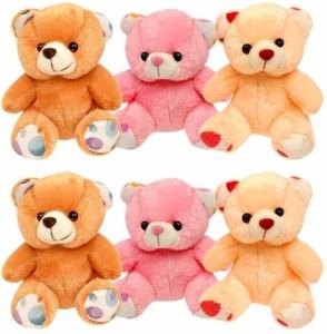 Lovely Small Teddy Bear Combo  - 12 cm