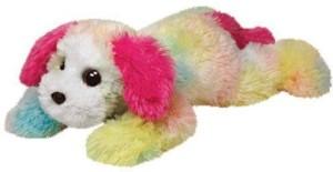 Ty Classic Yodeler Rainbow Dog Medium Plush