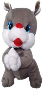 Chinmayi Small Squirrel Soft Toy, Gift Smile To Your Kids  - 26 cm