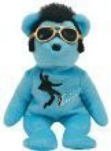 Ty Beanie Ba Blue Beanie Shoes The Elvis Bear