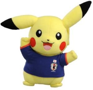 Tomy Pokemon Japan National Football Team With Pokemon Pikachu