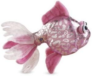 Ganz Lil'Kinz Mini Plush Animal Pink Glitter Fish