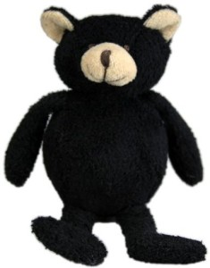 PurrFection Purrfection Thorn Bouncy Buddy Black Bear Plush