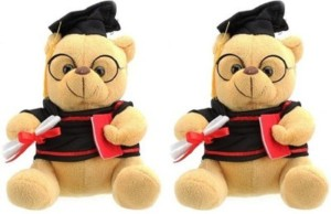 Cuddles Collections Graduate Teddy Combo 24  - 24 cm