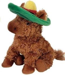 Ty Beanie Babies Siesta The Donkey Internet Exclusive Retired
