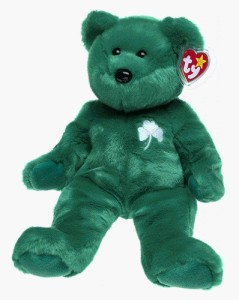 72ef8501a89 TY Beanie Babies Erin The Bear Green Best Price in India