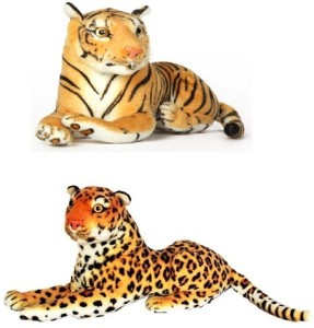 VRV Wild Animal Cheetah and Tiger  - 17 cm